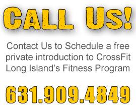 Contact CrossFit LongIsland